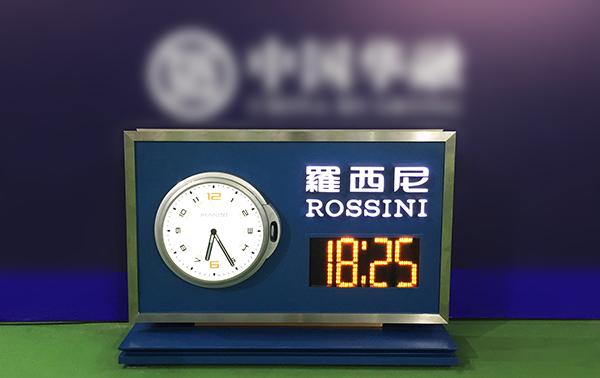 罗西尼计时器正式入驻2016珠海WTA超级精英赛...